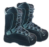 Ams Trifecta Black Grey Snowboard Freeride Boots Mens  8