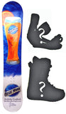 153cm Blue Moon Rocker Snowboard, Build a Package with Boots and Bindings.