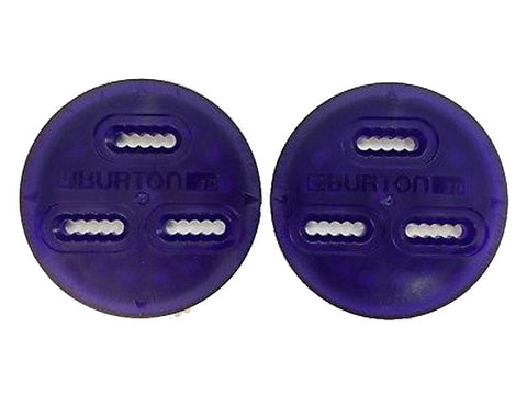 Burton 3D 3 Hole Mounting Replacement Discs (Pair) PURPLE