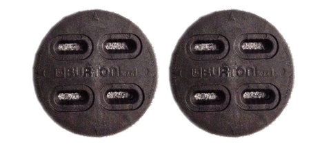 Burton 4x4 4 Hole OEM Mounting Replacement Discs (Pair) Black