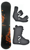 164cm Wide Burton Cruzer Vrocker USED  Snowboard or Build a Package with Boots and Bindings.