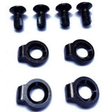 Burton EST Channel Comp Kit Screws & Hooked Washers for Snowboard Bindings 13mm 4pc