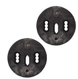 Burton Retro Channel Transition Snowboard Discs (Pair) Black EST ICS and Disc