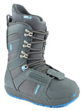 Burton Progression Dark Gray Womens Used Snowboard Boots 8.5