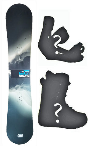 155cm Burton Progression LTR Wide Used Snowboard, or Build a Package with Boots and Bindings.