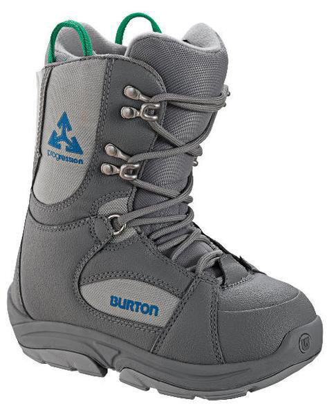 Burton Progression Kids USED Snowboard Boots Size 13 Gray