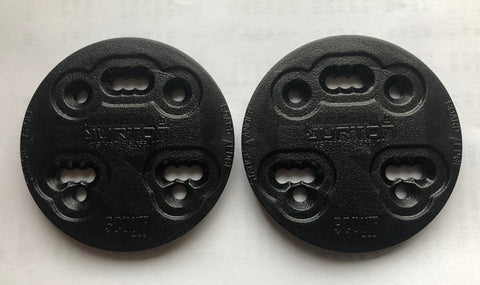 Burton Scout 3D & 4x4 4 Hole Mounting Discs Black Youth LAST-1
