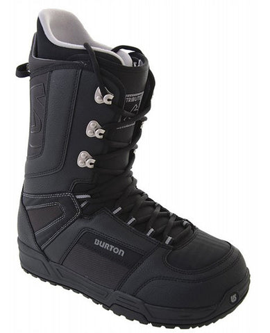 Burton Tribute Black Mens Used Snowboard Boots Men 9