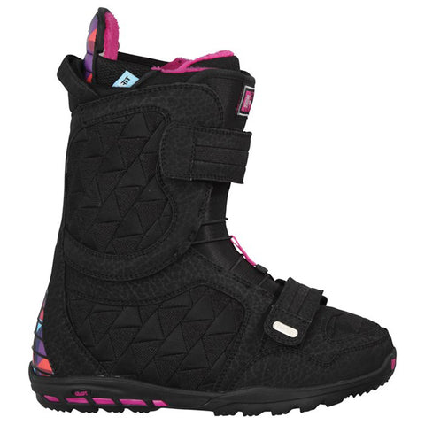 Burton Axel USED Snowboard Boots Women's Size 6 Black