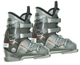Dalbello Vantage VT LTD Factor Ski Boots Grey Red Used Mondo 23 Youth 5 Women 6 290mm