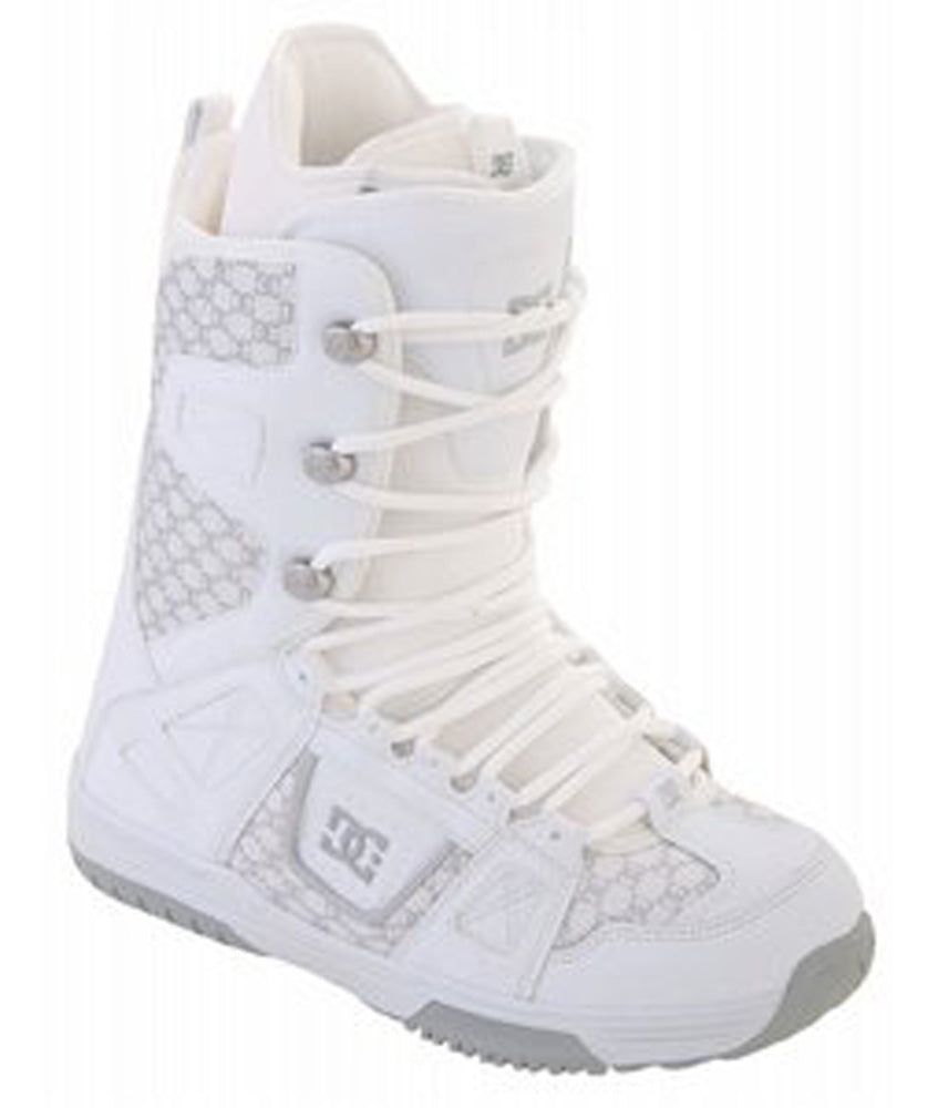 ba76d454092 DC Phase Womens Snowboard Boots Size 5 Wide White Armor