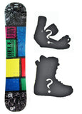 138cm Dell-ion Rocker Snowboard, or Build a Package with Boots and Bindings