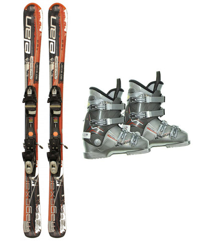 150cm Elan Mag Exar Skis & Tyrolia ESP SP 10 Bindings & Dalbello Boots Used rtl Package