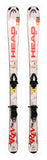 163cm Head Rev 75 Rocker / Camber Skis with Tyrolia BYS 10 Bindings USED Package