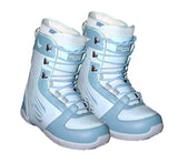 Heelside Finesse Linered Snowboard Boots Size 5 Girls or Womens 6 Blue