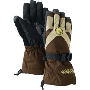 Burton Kids Small Adult Snowboard Gloves Mocha Brown XL