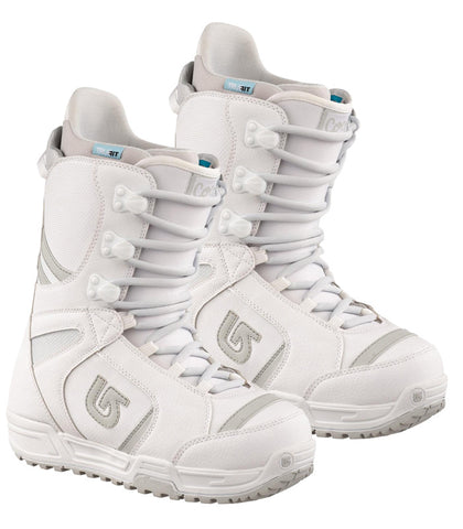 Burton Coco Women's 2nd White Lace Snowboard Boots 7 , 8 or 10