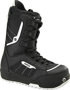 Burton Invader Mens Lace Snowboard Boots Black 8,15