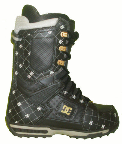 DC Balance Lace Snowboard Boots Mens Size 5 equals Womens 6.5 Dark-Brown equals Kids-5-5.5