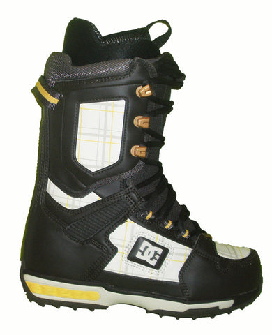 DC Balance Womens Lace Command-Liner Snowboard Boots Size 6 DkEspresso-Turtledove equals Kids-4.5-5
