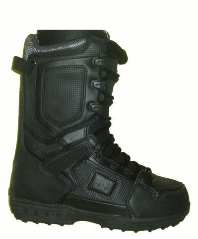 DC Balance Lace Snowboard Boots Mens Size 8.5 equals Womens 10 Black