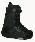 DC Sith Lace Snowboard Boots Mens Size 5 equals Womens 6.5 Black equals Kids-5-5.5