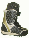 DC Judge Womens Boa Bravo-Liner Snowboard Boots Size 5 Dark-Brown equals Kids-4-4.5