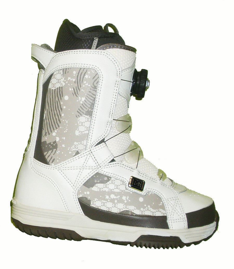 DC Scout Womens Boa Echo-Liner Snowboard Boots Size 5 Turtle-Dove equals Kids-4-4.5