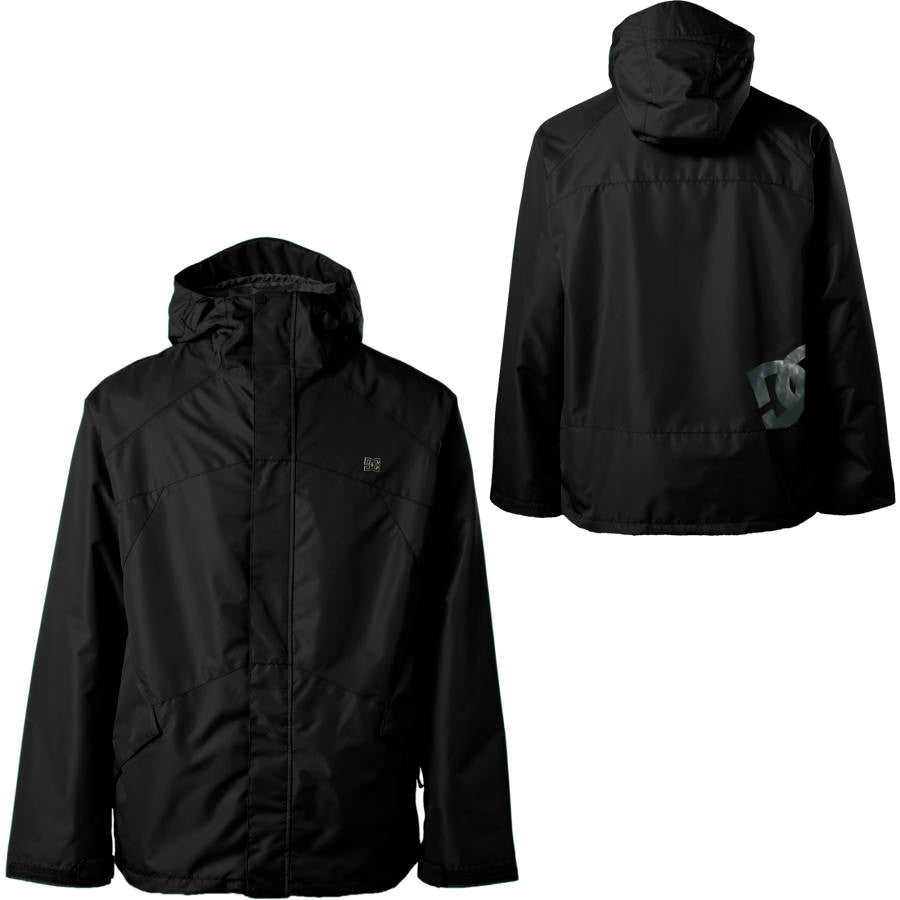 DC Showtime Snowboard Ski 5k Waterproof Hood Jacket Black XL