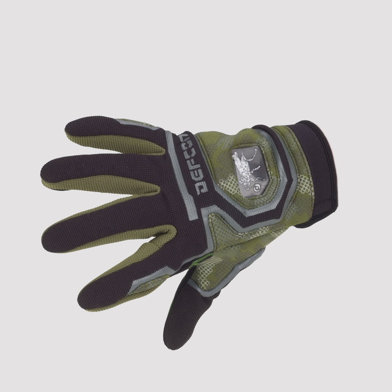 DEFECON PROTOCOL SNOWBOARD GLOVES GREEN ,BLACK,GREY XXS