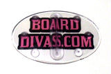 Board Divas Womens Girls Clear Snowboard Stomp Pad
