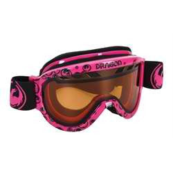 Dragon Alliance Snowboard Ski Goggles Pink Icon Logo d1xt