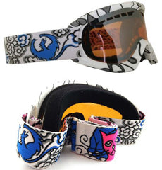 Dragon DX Jamie Lynn Signature Snow Goggles White dgn7
