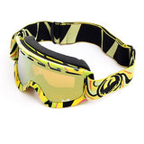 Dragon Lil D Kids youth  Mind Melt Yellow Snow Goggles