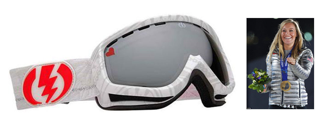 Electric EGK Goggles Jamie Anderson Pro Model White Grey Snowboard Ski skiing eg1