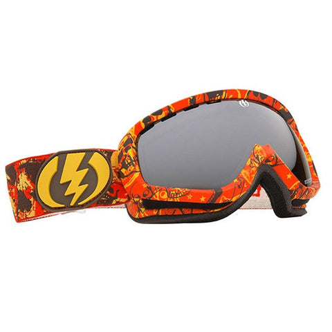 "Electric EGK Goggles Rackham Pro Red Yellow Snowboard Ski skiing ""Last Pair"""