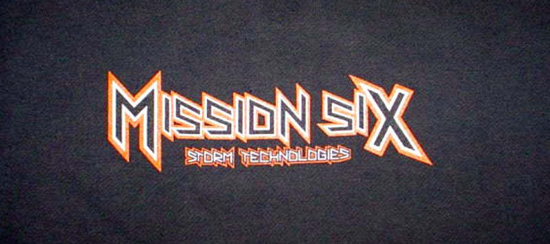M6 MISSION SIX HOODIE SWEATSHIRT WHITE,YELL,BLK