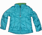 Faded Glory Snowboard Ski Girls Insulated Jacket CREW XS AQUA