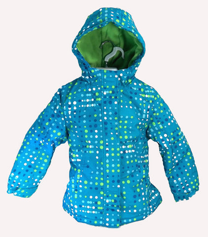 Fader Kids youth Snowboard Jacket Ski snow Jacket  Blue green