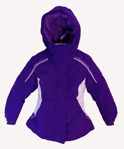Fader Kids youth Snowboard Jacket Ski snow Jacket xs  Purple 4/5