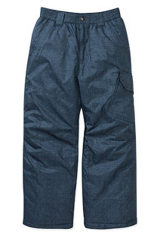 Fader Snowboard Pants Ski Snow Insulated Blue tech XS 4-5.