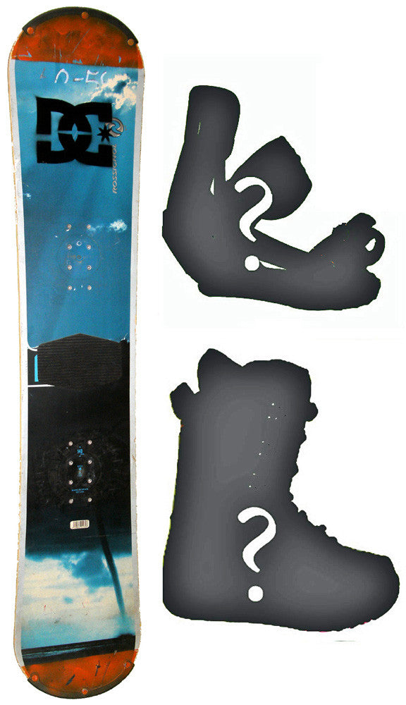sld  Used Rossignol ROC-T  Snowboard, Build a Package with Boots and Bindings