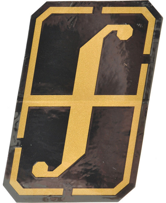 Forum Snowboard Sticker Recon  Snowboarding Black-Gold