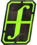 Forum Snowboard Sticker Recon  Snowboarding Black - Green Neon