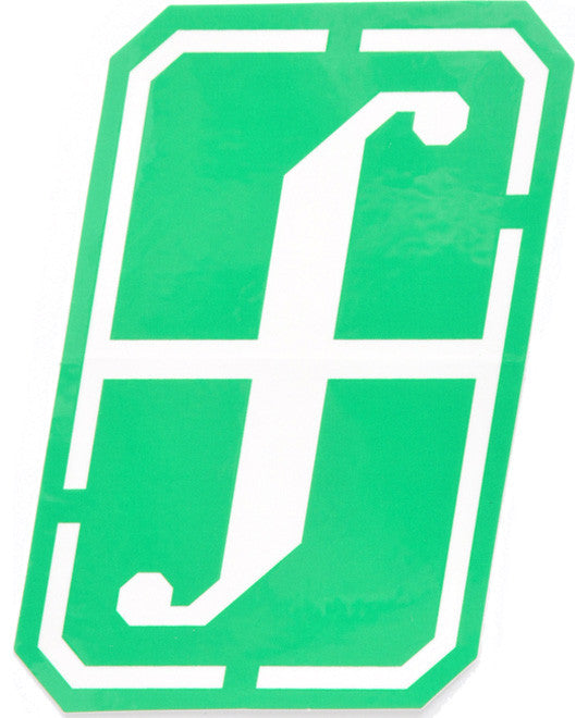 Forum Snowboard Sticker Recon  Snowboarding Green White