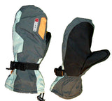 Defcon Matrix Snowboarding Mitten gray lt-gray orange Extra-Small