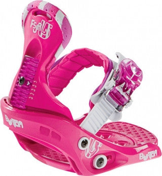 Burton Freestyle Kids Youth Snowboard Bindings Pink 2-6