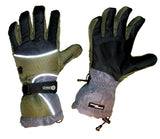 Stick It Grandoe Snowboarding Gloves black brown  Medium
