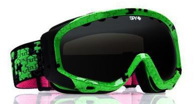 Spy Soldier Todd Richards Snowboard Goggles Bronze Green Spectra Mirror Lens