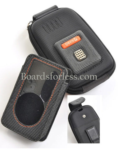Gravis by Burton Ipod Camera Case Leather & Poly Hard Case